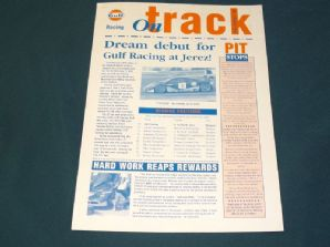 GULF McLAREN F1 GTR 1995 ON TRACK info sheet - #2  Jerez report /Ricard preview
